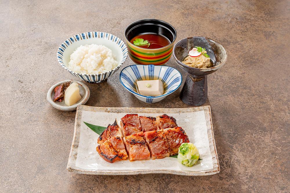 """""""京都豚""""西京焼御膳 """"Kyoto pork"""" Saikyo-Yaki Set"""