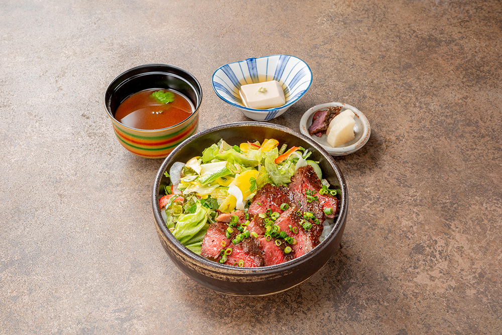 "和牛""京都牛""ステーキ丼 wagyu""Kyoto gyu""Steak Rice Bowl"